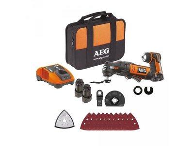 AEG Omni 12C Multizaag/schuurmachine Kit2