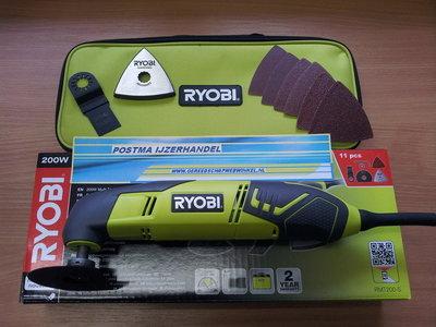 Ryobi RMT 200-S multimaster/schuurmachine