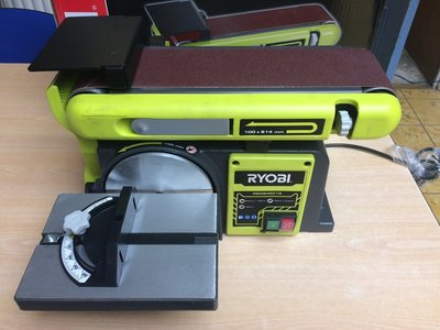 Nieuw!! Ryobi RBDS4601G stationaire bandschuurmachine