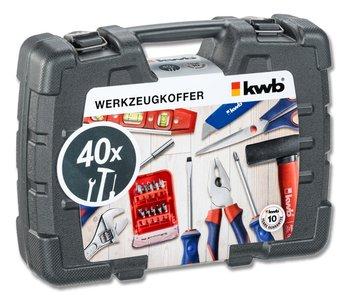 Gereedschapskoffer KWB 40 delig